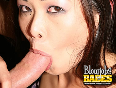 Asian Nyomi Zen Gags On a Big Cock